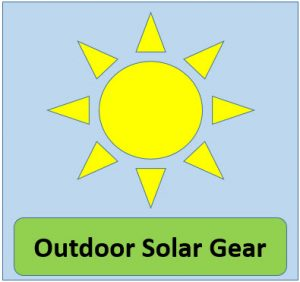 Original Outdoor Solar Gear Logo
