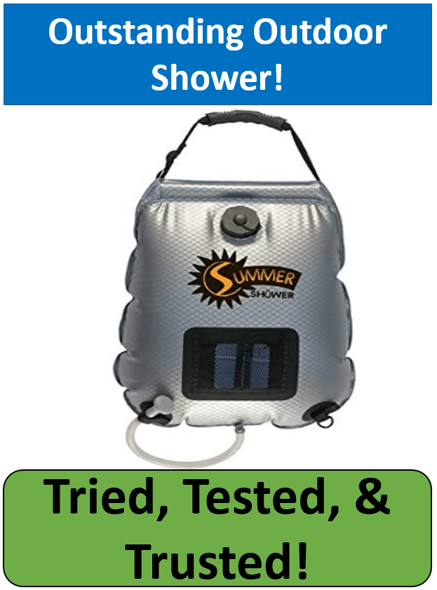 advanced elements solar camping shower