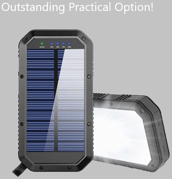 Goertek portable solar charger