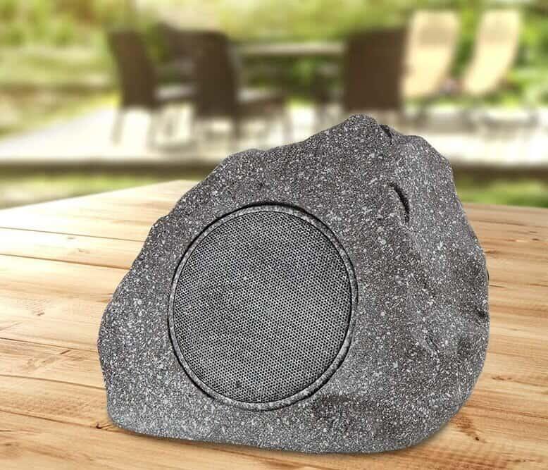 solar stone speaker